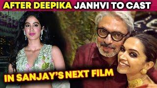 Janhvi Kapoor To Work With Padmaavat Director Sanjay Leela Bhansali To Work