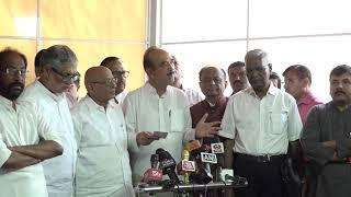 LoP, Rajya Sabha Ghulam Nabi Azad addresses media on Parliament Session