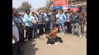 Ban Toll Andolan Samiti protests for charging high toll from Reasi vehicles