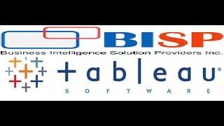 Tableau Training by BISP | Tableau Online Training | Tableau Training
