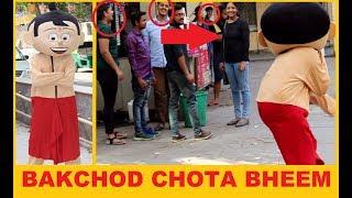 Chhota BHEEM Bakchodi Prank | ft. Movin Like Bernie | 2018