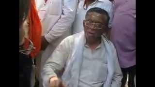 Santosh Gangwar Address the Media.