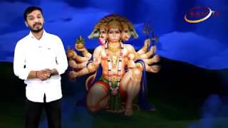 Hanuman Jayanti Special Show Kalaburagi Devinagar Hanuman Temple SSV TV Nitin Kattimani