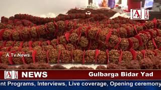 Gulbarga Indus Nepal Rudraksha Organization Exhibition cum Sale A.Tv News 28-9-2017