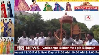 Mukhti Wahan's Handover to SC ST Communities by Gulbarga City Corporation A.Tv News 22-10-2017