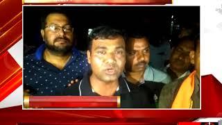 जालौन - प्रशासन ने रोका शिक्षकों का कैंडल मार्च - tv24