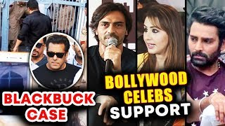 Bollywood Celebs Reaction On Salman Khan's 5 Year JAIL Sentence | Blackbuck Poaching Case