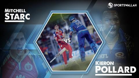 IPL Masala - Kieron Pollard vs Mitchell Starc