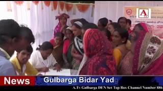 Gulbarga Ke Indra ismark Bhavan Mein City Corporation Ke Safai Mulazimin Ke Liye Health Check Up