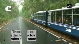 Darjeeling Toy Train will Now have AC Coaches