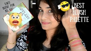 Best Affordable Blush Palette For Indian Skin Tones | ADS How Abt 'em Apples Blush Palette Review