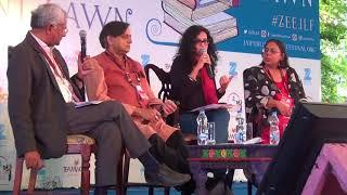 Zee Jaipur Literature Festival (Shashi Tharoor & Nandana Sen)