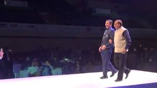 Ramp Walk by Vijay Goel T20  World Cup Cricket for Blind Opening Ceremony