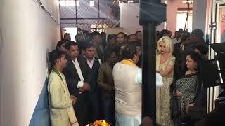 Pooja Ceremony Olialia Pan Masala Factory in faridabad