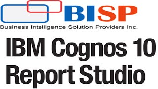 IBM Cognos Training - Cognos Report Studio Linear Regression | Cognos Advance Report