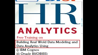 Cognos HR Model Building Session#3 Role Playing Dimension