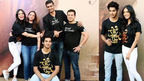 Ey Chhote Motor Chala Song Launch From Beyond the Clouds   Ishaan Khatter, Malavika Mohanan