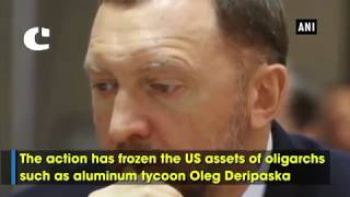 US Slaps Sanctions on Russian Oligarchs