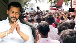Salman GETS BAIL, Salman Khan FANS Celebrate Outside Galaxy Apartment