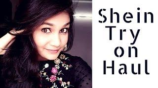 SHEIN TRYON HAUL 2018 | NIDHI KATIYAR