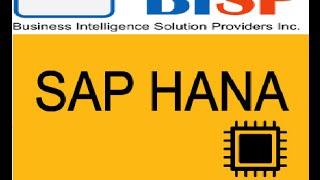 SAP HANA Introduction Session