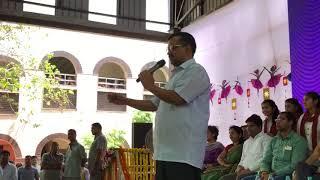 Delhi CM Arvind Kejriwal inaugurated world class Swimming Pool at RSBV School , West Vinod Nagar