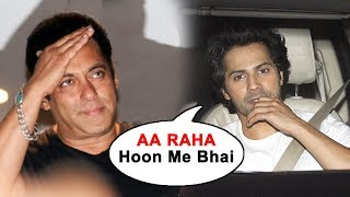 Varun Dhawan Visits Salman Khan's GALAXY Apartment To Meet Salman After Coming Out Of JAIL