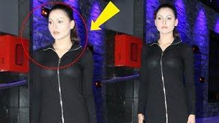 What Happened To Urvashi Rautela's Face? | Urvashi Spotted At  Hakkasan