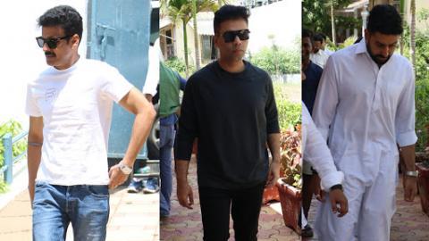 Nikhil Advani's Mother Passes Away: Abhishek Bachchan, Karan Johar, Manoj Bajpayee Attend Funeral