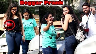 Making Cute Girls beg in Public Prank | Pranks in India 2018 | callme4 | Unglibaaz