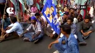 Dalit Factions Protest in Kerala