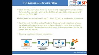 FDMEE Cloud Overview | Oracle EPM FDMEE