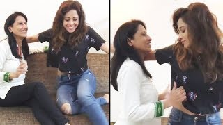 Nushrat Bharucha Dance With Mom Will Make Your Day   Sonu Ke Titu Ki Sweety Fame Nushrat Bharucha