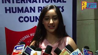 Ashnoor Kaur BEST Actress Award - Full Interview - Dr. Baba Saheb Ambedkar Noble Award 2018