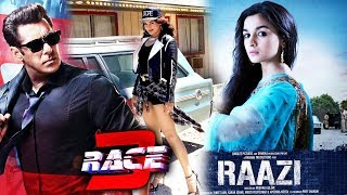 Salman Khan Recommends Sonakshi For RACE 3, Alia Bhatt RAAZI First Look Out