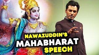 Nawazuddin Siddiqui LORD KRISHNA Speech From Mahabharat | Respect To Nawaz