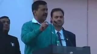 Arvind Kejariwal on Guest Teachers Delhi 21 Dec