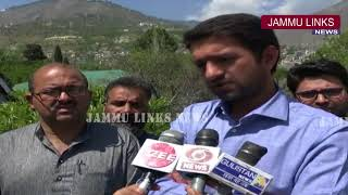 Medical Shop Owners Association Doda protest over medical store