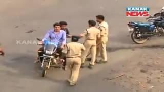 (Kanak News Visual)-Odisha: Section 144 imposed in Bhadrak