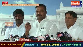 NEWS UPDATE : ALE VENKATESWAR REDDY//HINDU TV