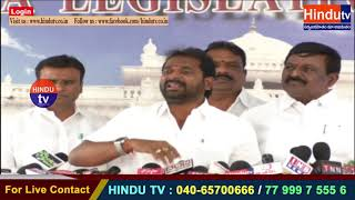NEWS UPDATE TRS MLA V. SRINIVAS GOUD ABOUT TRS GOVT PROMISES ON CASTE DEVELOPMENTS