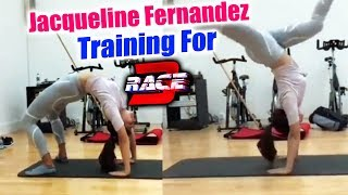 Jacqueline Fernandez HARD WORKOUT For RACE 3 | Salman Khan