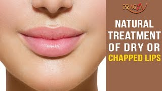 Natural Treatment of Dry or Chapped Lips