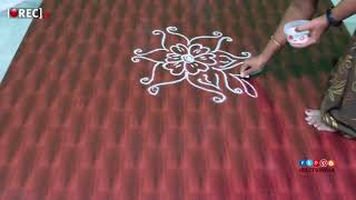 varalakshmi vratham  kolam designs without dots easy rangoli designs friday muggulu| rectvindia