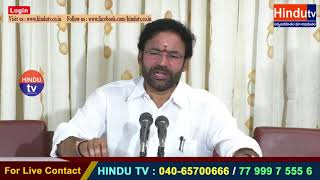 BJP MLA KISHAN REDDY REACTS OVER ASSEMBLY SESSIONS