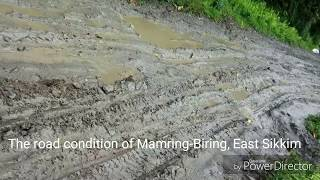 #Damage Road Condition in #East Sikkim
