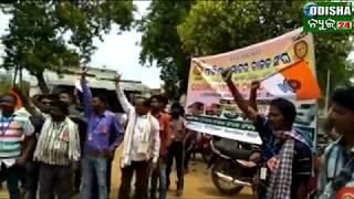 #Strike & Awareness about Road Safety #Odisha Motor Chalak Sangha