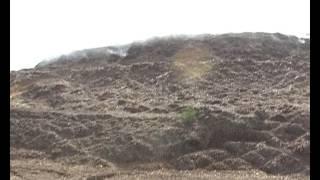Delhi polution Mukrba Chowk Dumping site landfill site