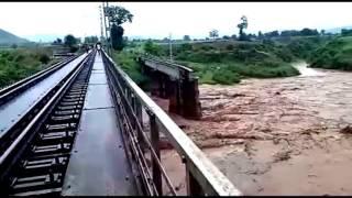 #Flood #Rayagada #Kalahandi #Odisha