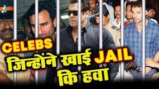 Bollywood Celebs Who WENT TO JAIL | Salman Khan, Saif Ali Khan, John Abraham